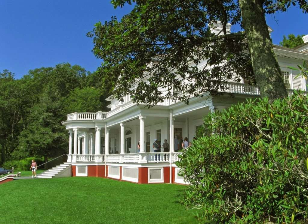 Moses Cone Manor on the Blue Ridge Parkway