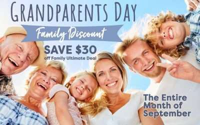 Grandparents Day Family Savings Deal