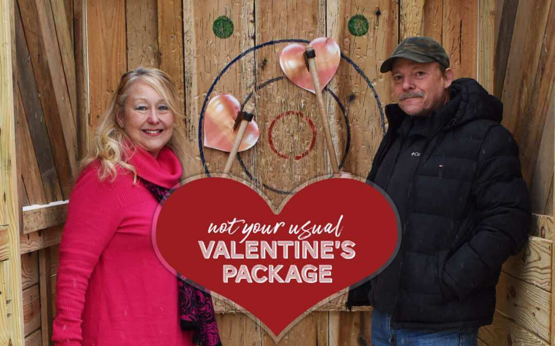 Not Your Usual Valentine's Day Package